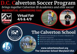 D.C. Calverton Soccer Program Virtual Fair